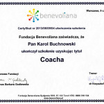 Dyplom-coach-benevoliana